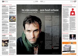 Andrew Bird by Roger Cremers 2008