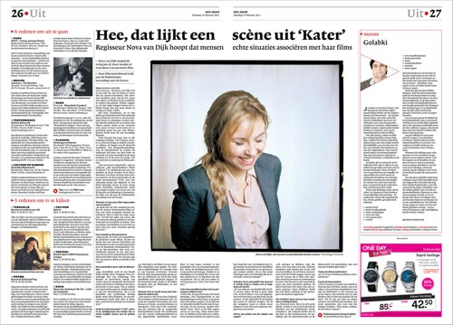 Nova van Dijk in NRC next by Roger Cremers