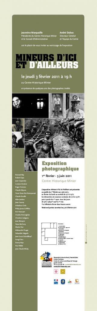'Mineurs d'ici et d'ailleurs' expositie in Frankrijk