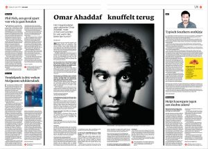 Omar Ahaddaf by roger cremers in NRC Next