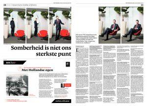 Halbe Zijlstra in NRC Handelsblad 2012