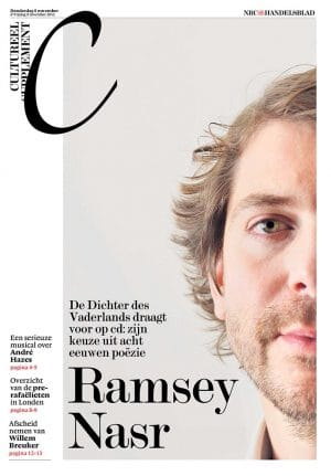 Ramsey Nasr in NRC Handelsblad Cultureel Supplement
