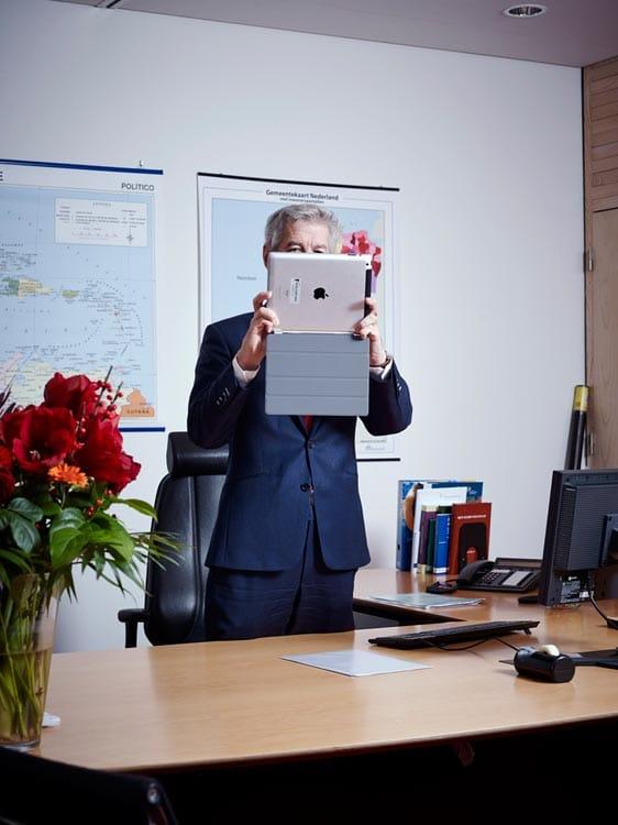 Nederland, Den Haag, 30-11-2012 Ronald Plasterk is een Nederlandse politicus en wetenschapper. Sinds 5 november 2012 is Plasterk minister van Binnenlandse Zaken en Koninkrijksrelaties in het kabinet-Rutte II.  PHOTO AND COPYRIGHT ROGER CREMERS