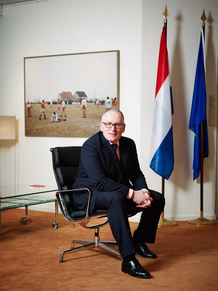 Nederland, Den Haag, 17-12-2012 Frans Timmermans is een Nederlands PVDA politicus en sinds 5 november 2012 minister van Buitenlandse Zaken in het kabinet-Rutte II. PHOTO AND COPYRIGHT ROGER CREMERS