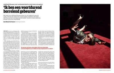 Adelheid Roosen de groene amsterdammer by Roger Cremers