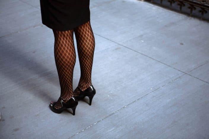 Verenigde Staten van Amerika, New York, 14-10-2008 Benen in de straten van New York PHOTO AND COPYRIGHT ROGER CREMERS