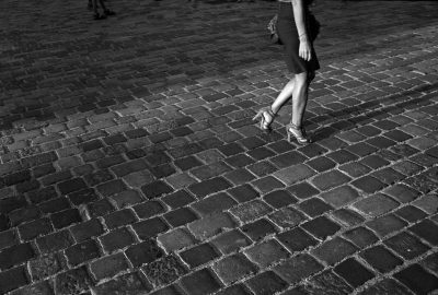 Kroatie, Zagreb, 29-08-2011 Beautiful woman legs in Zagreb. PHOTO AND COPYRIGHT ROGER CREMERS
