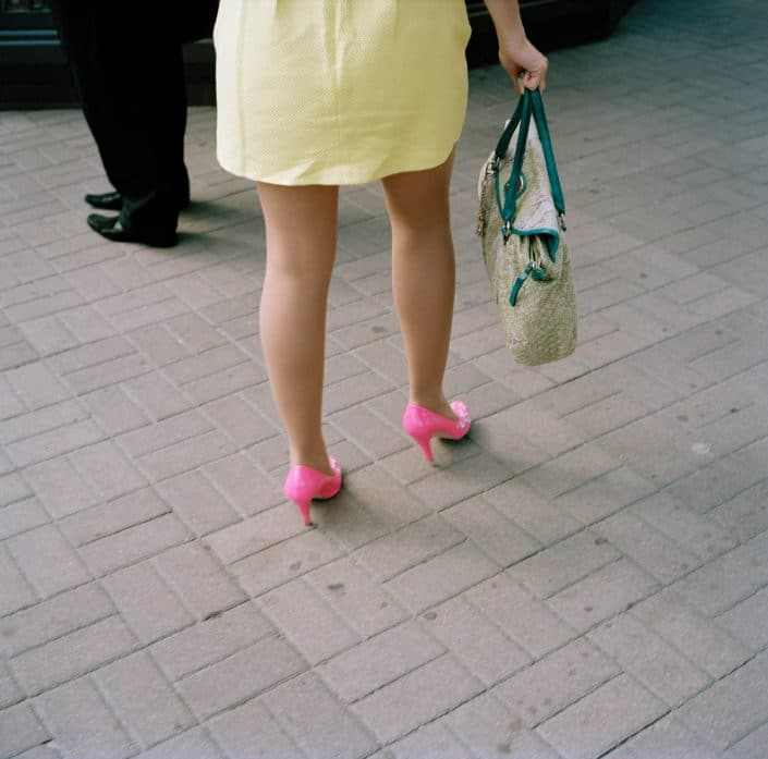 Ukraine, Kiev, 12-09-2013 Beautiful high heeled woman legs in the streets of Kiev PHOTO AND COPYRIGHT ROGER CREMERS