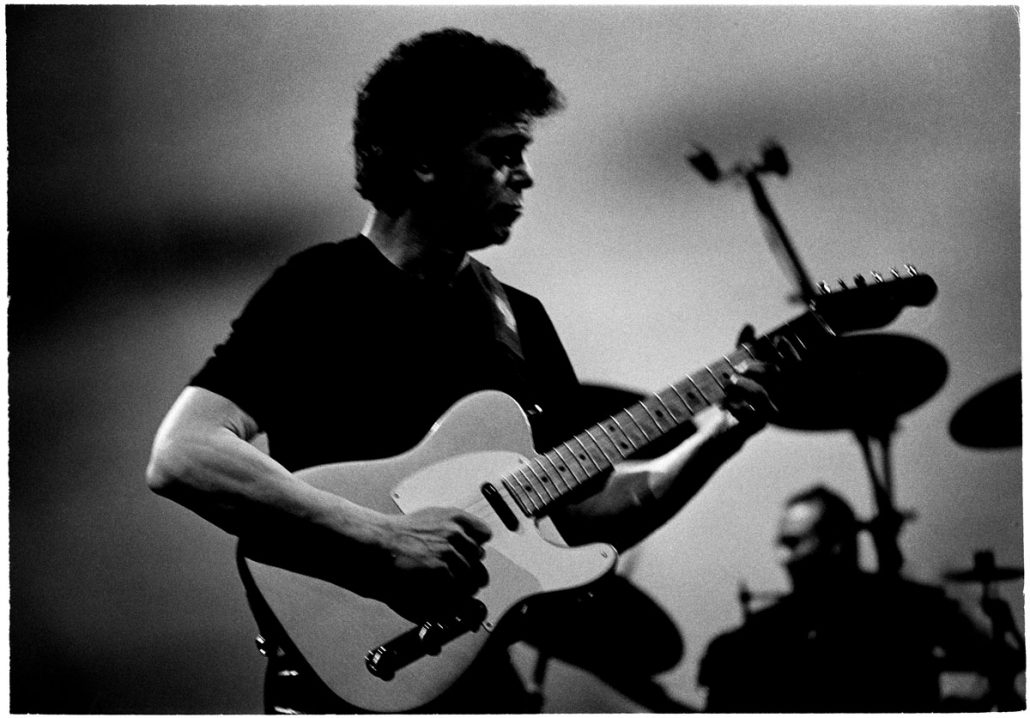 Nederland, Eindhoven, 08-05-2000 Lou Reed treed op in Eindhoven PHOTO AND COPYRIGHT ROGER CREMERS