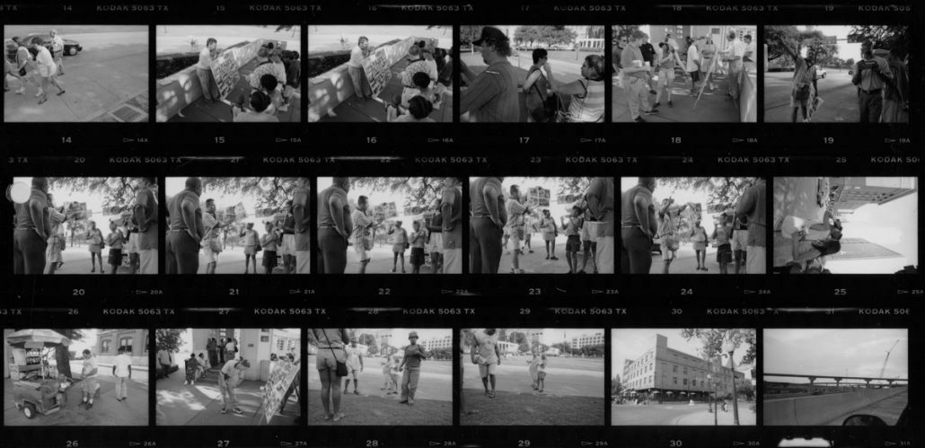 Contact-sheet-Dealey-Plaza-Dallas-2000