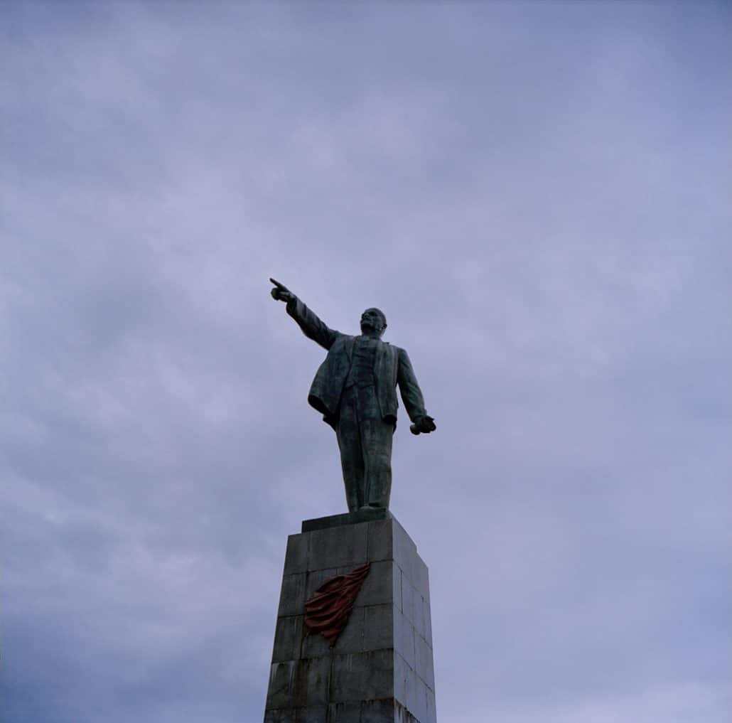 Ukraine, Sevastopol, 18-09-2013 Monument to Vladimir Lenin in Sevastopol (1957) PHOTO AND COPYRIGHT ROGER CREMERS