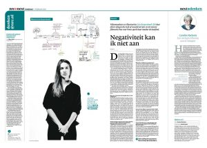 Lize Korpershoek in nrc next