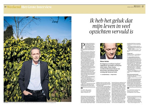 Pieter Steinz in NRC Handelsblad by Roger Cremers