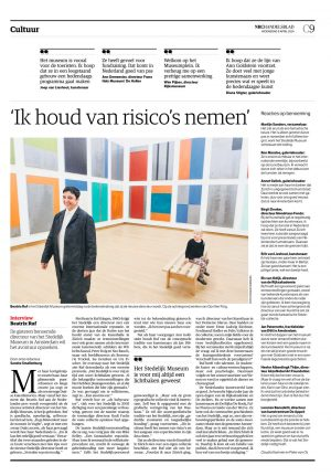 Beatrix Ruf in NRC Handelsblad