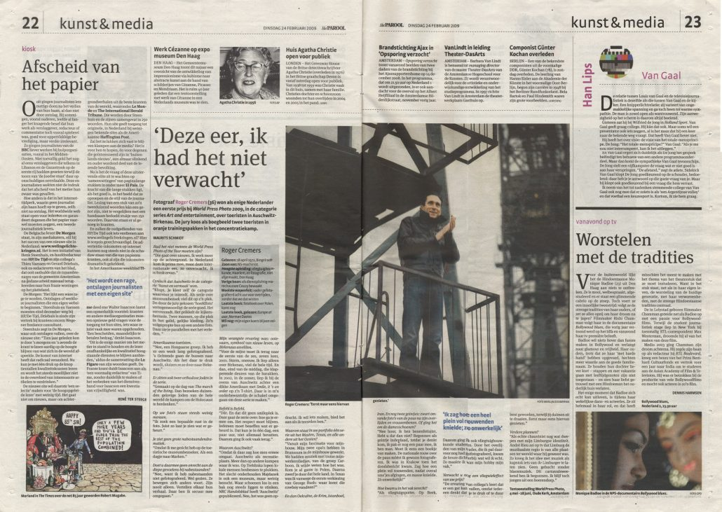 Parool interview Roger Cremers Maurits Schmidt