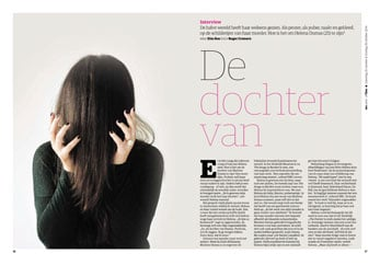 Helena Dumas in NRC Next Offline by Roger Cremers 2014