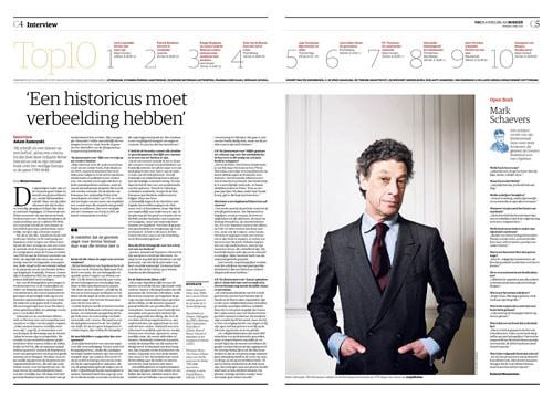 Adam-Zamoyski in NRC Handelsblad by Roger Cremers 2015