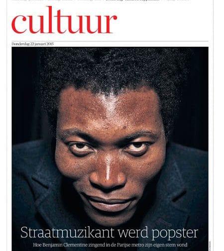 Benjamin Clementine in HRC Handelsblad by Roger Cremers 2015