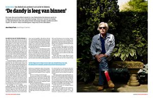 Jan Siebelink in de Groene Amsterdammer by Roger Cremers 2014