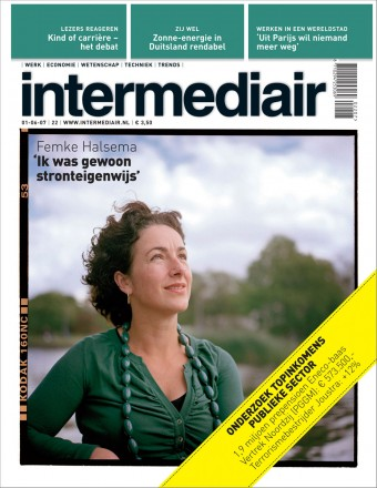 Femke Halsema in Intermediair by Roger Cremers 2007