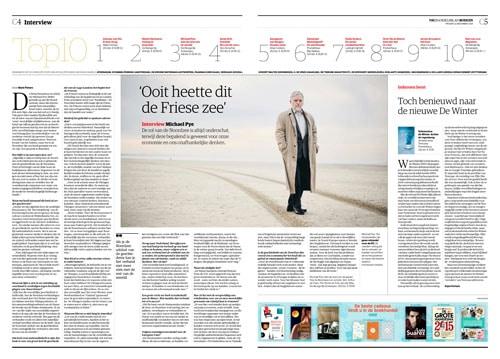 Michael Pye in NRC Handelsblad by Roger Cremers 2014