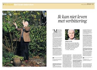 Adriaan van Dis in NRC Handelsblad by Roger Cremers