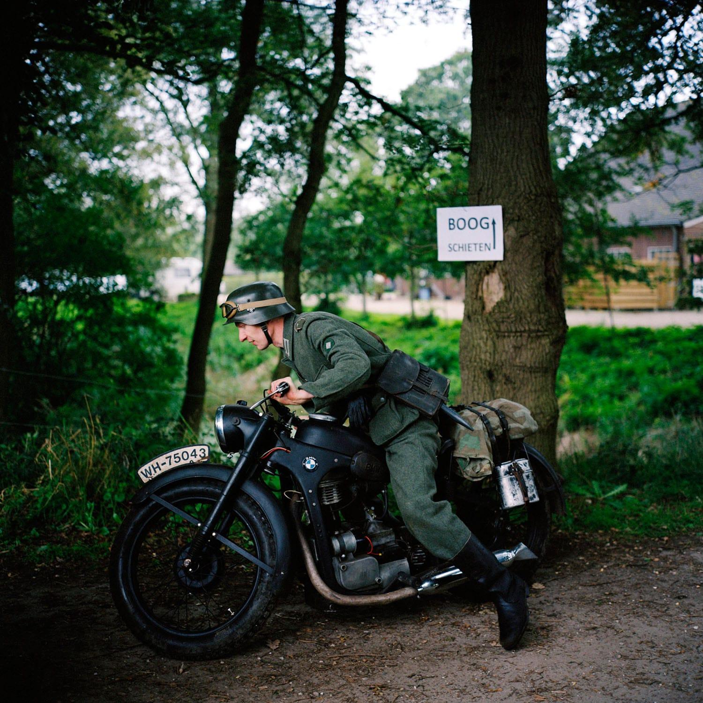 Nederland, Beers (Cuijk), 26-09-2010 Festival Levende Geschiedenis, op Landgoed de Barendonk te Beers. Tijdens het evenement kunt u als publiek in levende lijve kennis maken met een groot aantal aspecten van de vaderlandse- en wereldgeschiedenis. PHOTO AND COPYRIGHT ROGER CREMERS