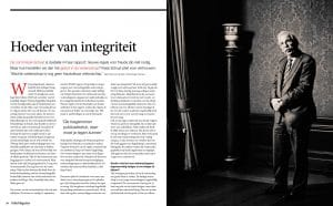 Kees Schuyt in Folia Magazine