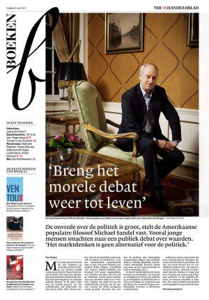 Michael J. Sandel in nrc handelsblad