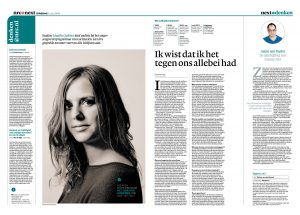 Maaike Ouboter in nrc next