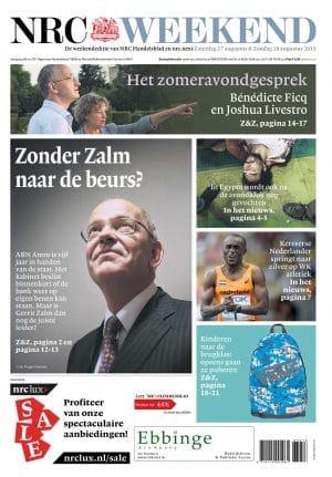 Gerrit Zalm in NRC Handelsblad