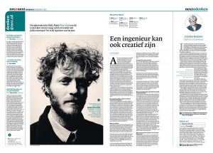 Pieter Kool in NRC Next by Roger Cremers 2013