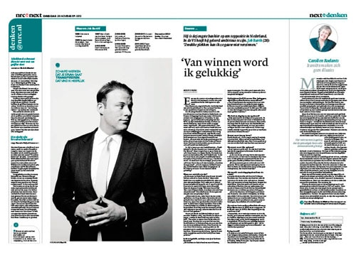 Job Barth in nrc next by roger cremers
