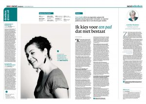 Nora Fischer in nrc next