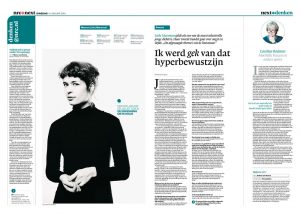Lieke Marsman by roger cremers in NRC Next 2014