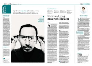 Yassine El Idrissi in nrc next by roger cremers