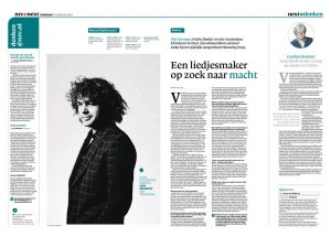 Flip Noorman in nrc next by Roger Cremers 2014