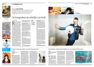 Ryan McGinley in NRC Handelsblad by Roger Cremers