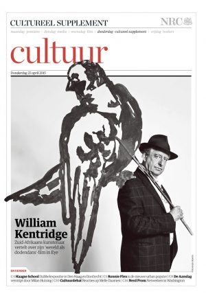 William Kentridge in nrc handelsblad Cultureel Supplement