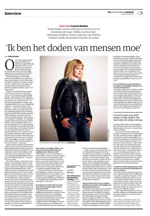 Lauren Beukes in NRC Handelsblad