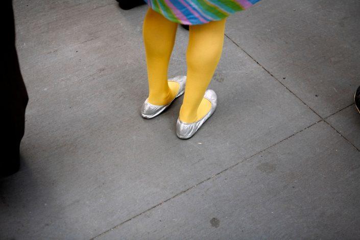 Verenigde Staten van Amerika, New York, 13-10-2008 Benen in de straten van New York PHOTO AND COPYRIGHT ROGER CREMERS