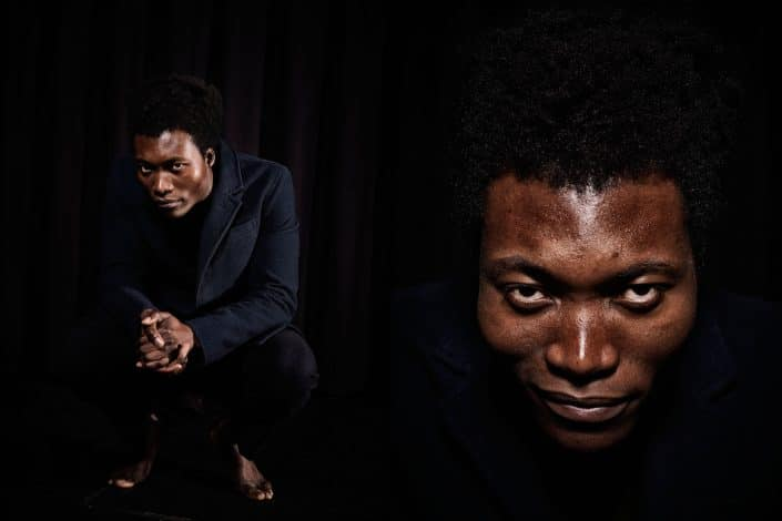 Nederland, Amsterdam, 08-12-2014 Benjamin Clementine, English musician and songwriter PHOTO AND COPYRIGHT ROGER CREMERS