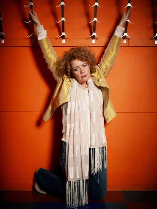 Nederland, Amsterdam, 20-12-2011 Brigitte Kaandorp (Haarlem, 10 maart 1962) is een Nederlandse cabaretière. PHOTO AND COPYRIGHT ROGER CREMERS