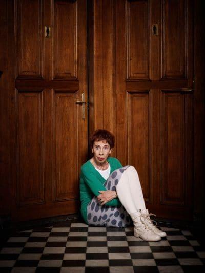Nederland, Amsterdam, 15-05-2012 Charlotte Jacoba Maria Mutsaers (Utrecht, 2 november 1942) is een Nederlands schrijfster, essayiste en kunstschilderes. PHOTO AND COPYRIGHT ROGER CREMERS