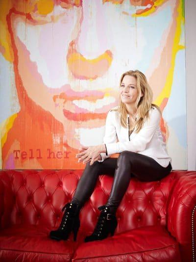 Esther Verhoef, Nederlands schrijfster. PHOTO AND COPYRIGHT ROGER CREMERS