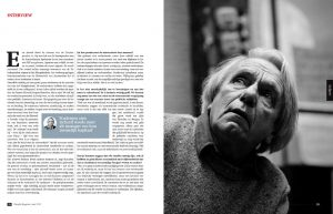 Jacques Rancière in Filosofie Magazine