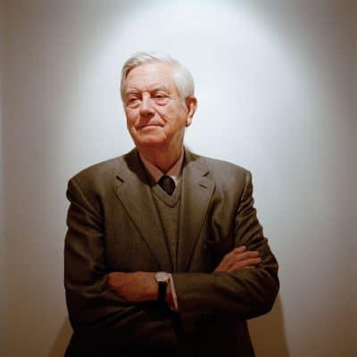 Frits Bolkestein, Nederlands politicus. Hij was staatssecretaris van Economische Zaken en korte tijd minister van Defensie. Het bekendst is hij geworden als fractievoorzitter van de VVD in de Tweede Kamer. Van 1999 tot 2004 was Bolkestein Europees Commissaris voor Interne markt, de Douane Unie en Belastingen. PHOTO AND COPYRIGHT ROGER CREMERS