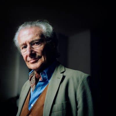 Harry Mulisch geldt als een van de voornaamste naoorlogse Nederlandse schrijvers. Hij wordt gerekend tot 'De Grote Drie' waartoe ook Willem Frederik Hermans en Gerard van het Reve behoren. PHOTO AND COPYRIGHT ROGER CREMERS