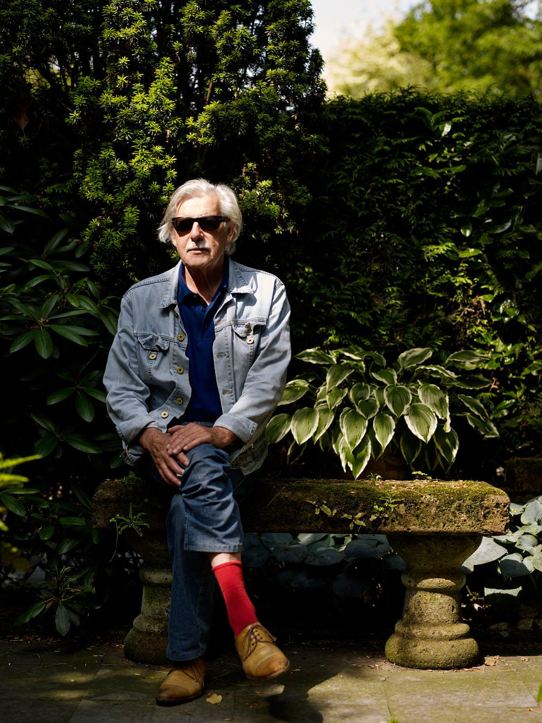 Jan Siebelink, Nederlands schrijver en essayist PHOTO AND COPYRIGHT ROGER CREMERS