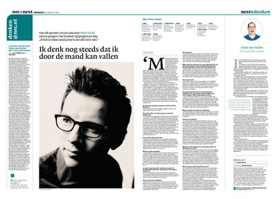 Pieter Derks in NRC Next by roger cremers